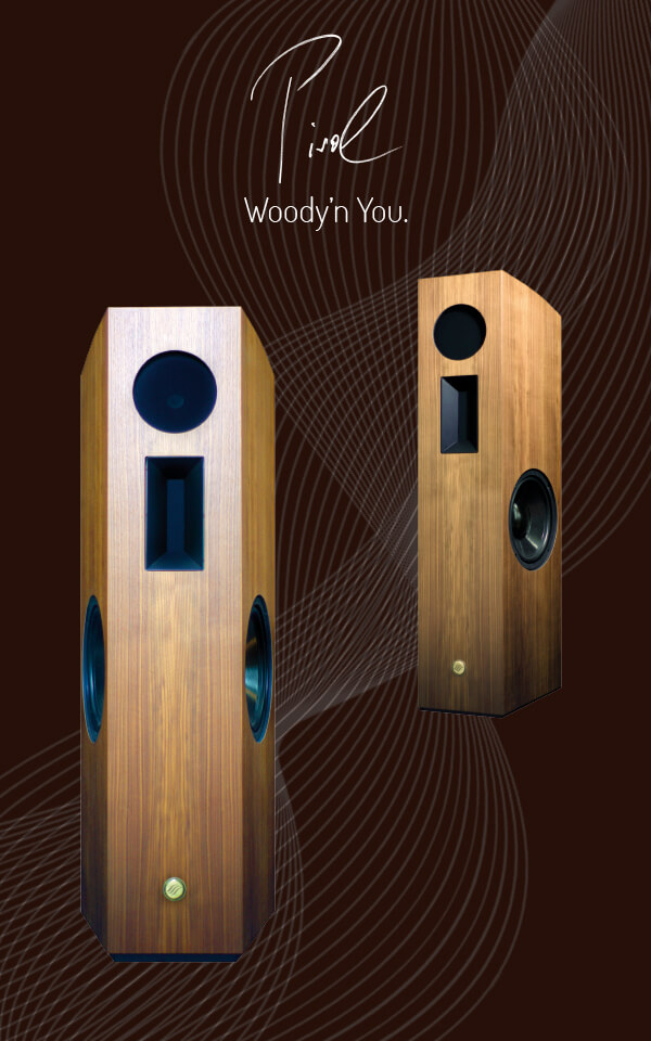 Pirol - powerful speaker by SoundSpace Systems
